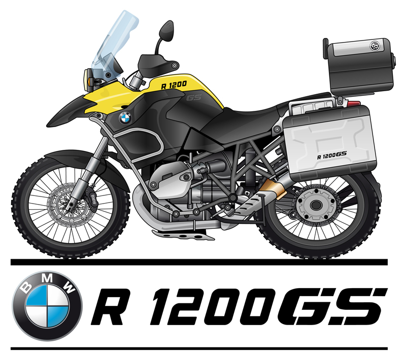 Bmw R 1200 Gs Logo Vector