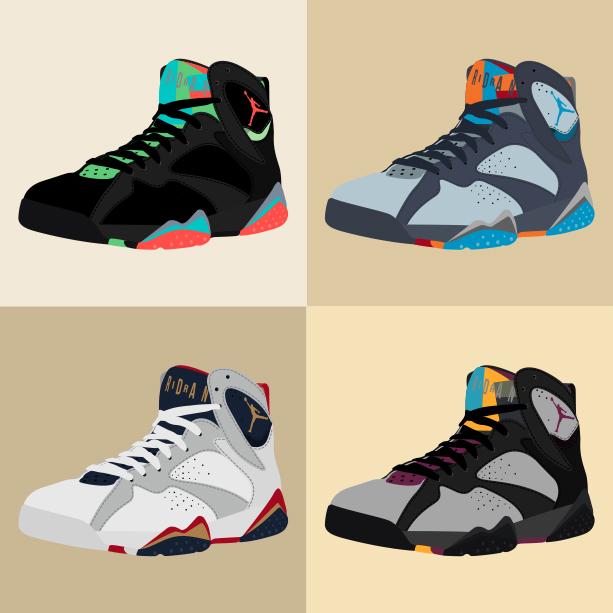 "Nike Air Jordan VII ""Collage"""
