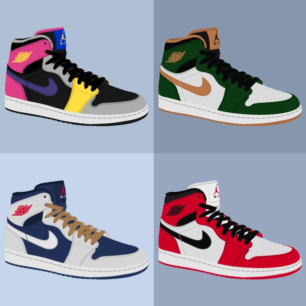 Nike Air Jordan I «Collage»