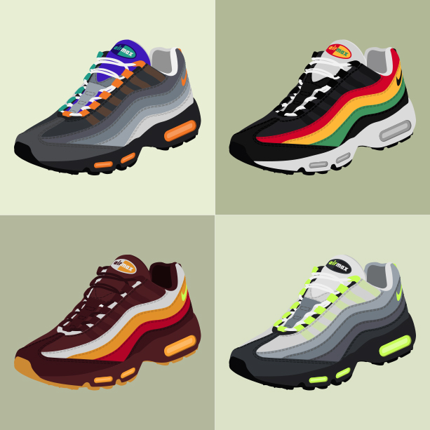 Nike Air Max 95 «Collage»