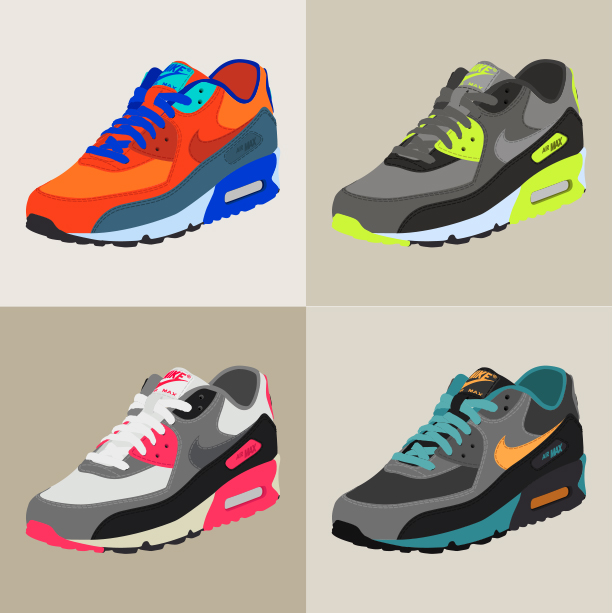 "Nike Air Max 90 ""Collage"""