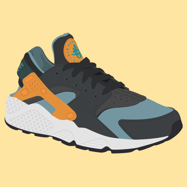 Subrayar Congelar Fortalecer  Nike Huarache | Bienvenido a ilustrador Madrid