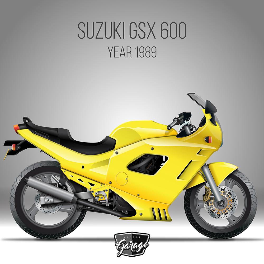 Suzuki gsx 600 bienvenido a ilustrador madrid for Garage suzuki caen