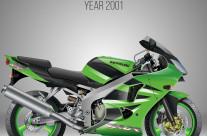KAWASAKI ZX-6R Green