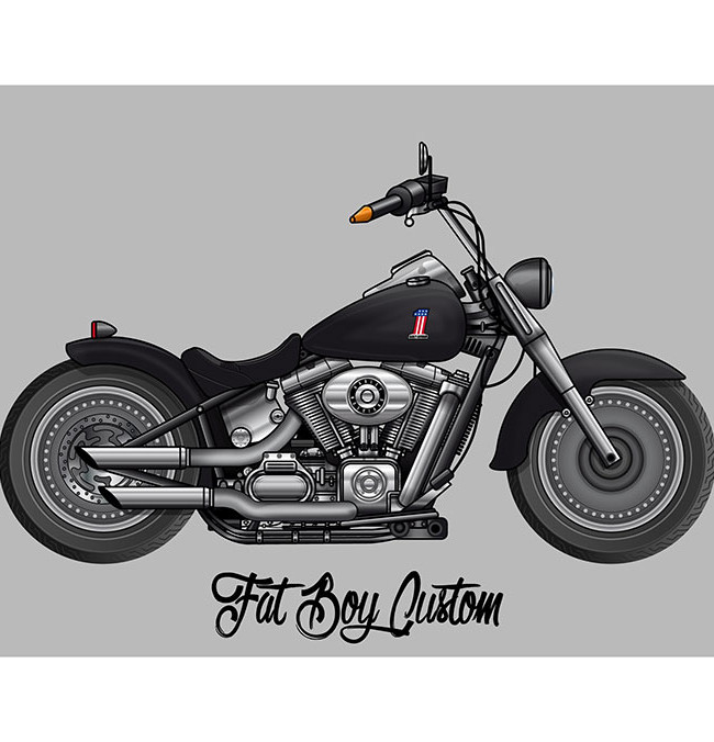 HARLEY DAVIDSON Fat Boy Custom