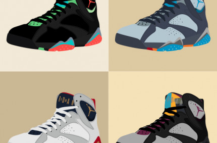 Nike Air Jordan VII «Collage»