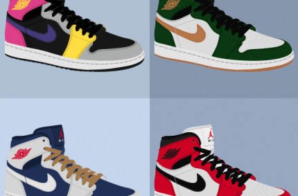 Nike Air Jordan I «Collage»