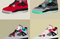 Nike Air Jordan IV «Collage»