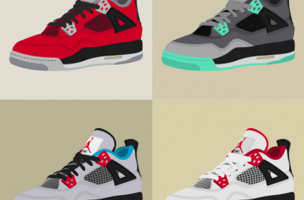 "Nike Air Jordan IV ""Collage"""