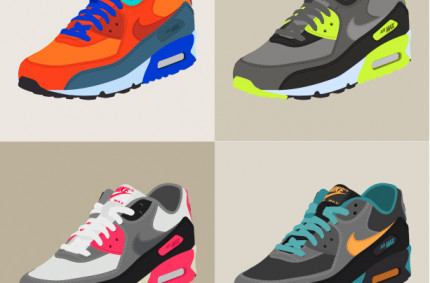 Nike Air Max 90 «Collage»