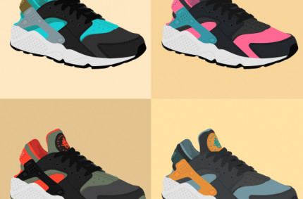 Nike Huarache «Collage»