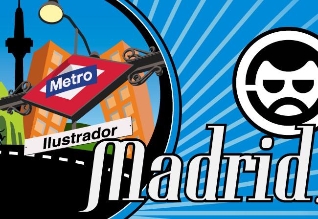 Homenaje a Madrid y a su metro.