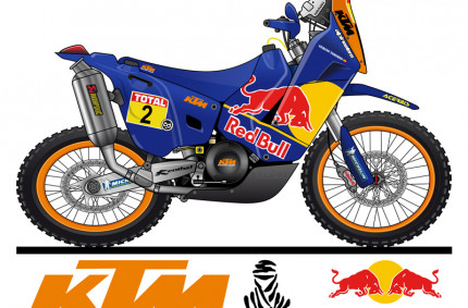 KTM 690 Paris Dakar