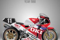 HONDA VFR 750R RC30 Superbike