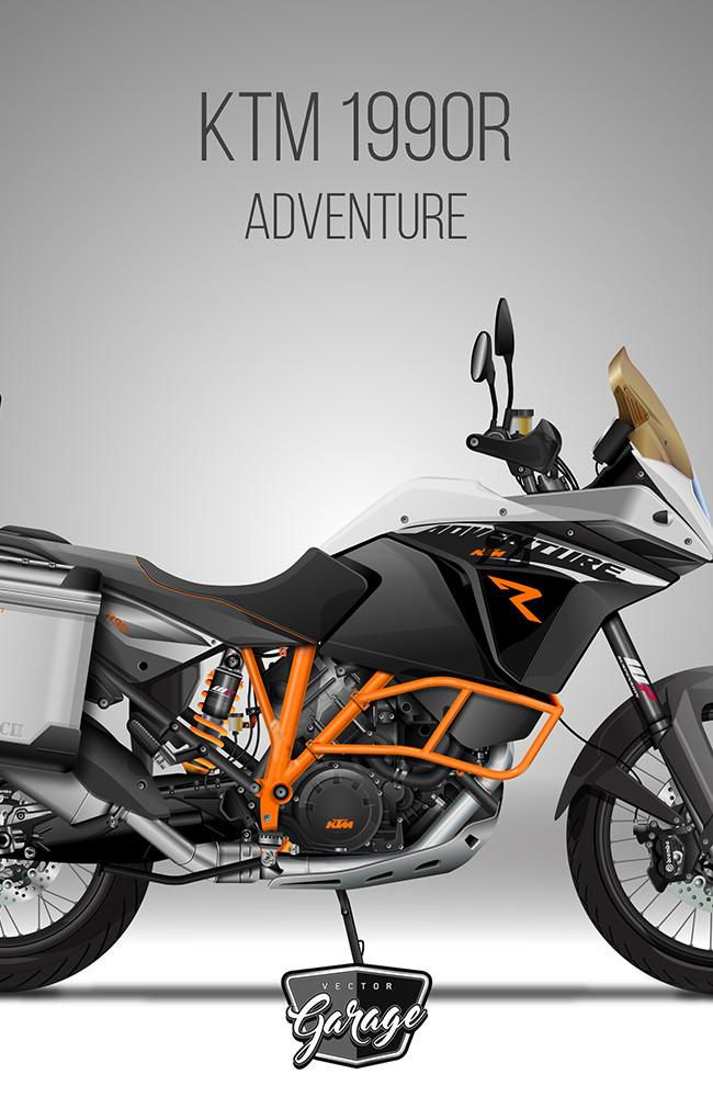 KTM 1990R Adventure