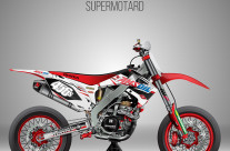 YAMAHA CRF 450R Supermotard